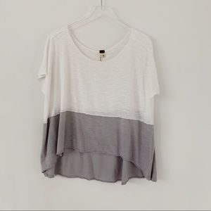 Free People Two Tone Tee